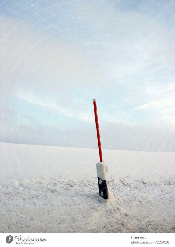 pathfinder Himmel Natur weiß Winter Straße Schnee Landschaft Umwelt Bewegung Wege & Pfade Linie Eis Schilder & Markierungen Frost beobachten Zeichen