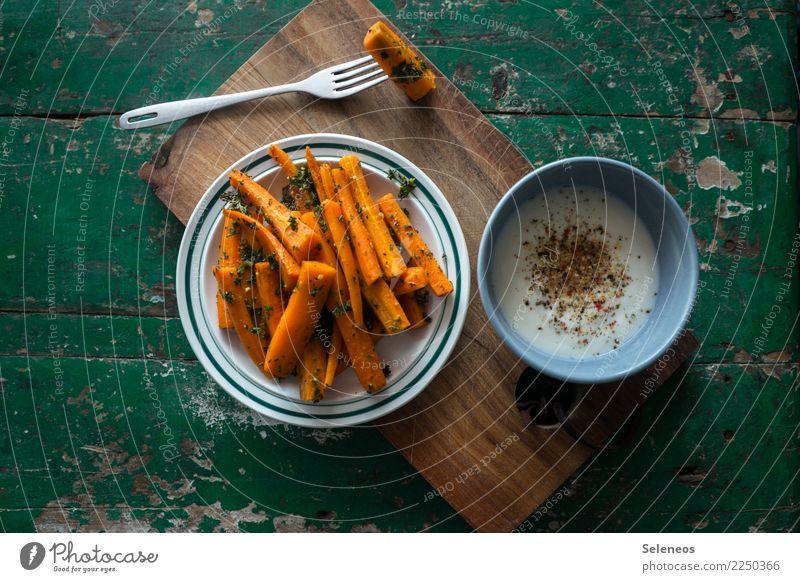 gesunder Snack Lebensmittel Joghurt Milcherzeugnisse Gemüse Kräuter & Gewürze Möhre Petersilie Ernährung Essen Picknick Bioprodukte Vegetarische Ernährung Diät