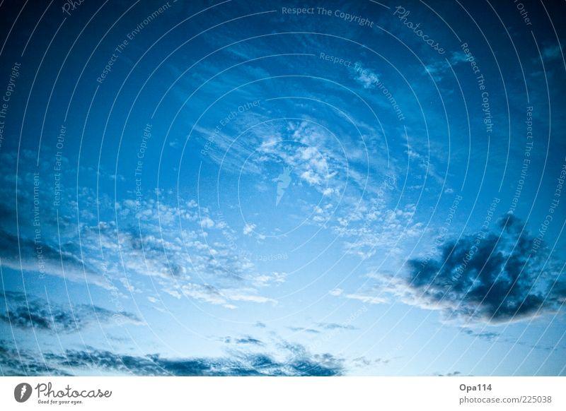 Himmel auf Erden! Himmel Natur weiß blau Sommer Wolken ruhig schwarz kalt Umwelt Bewegung Luft Wetter Zufriedenheit Klima Coolness