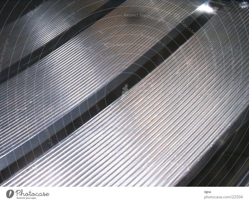 strukturiert Metall silber Sessel