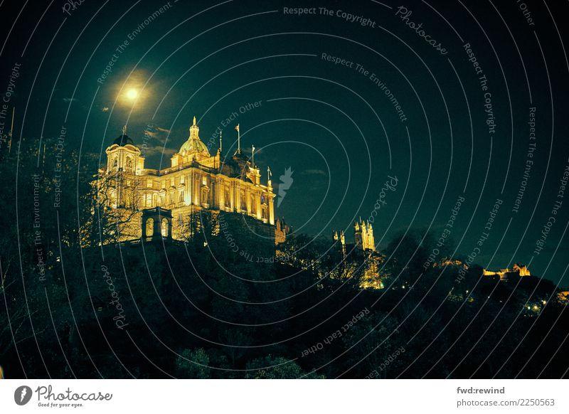 Lloyds Edinburgh Tourismus Sightseeing Städtereise Wirtschaft Kapitalwirtschaft Hauptstadt glänzend ästhetisch gigantisch groß historisch hoch Erfolg Kraft