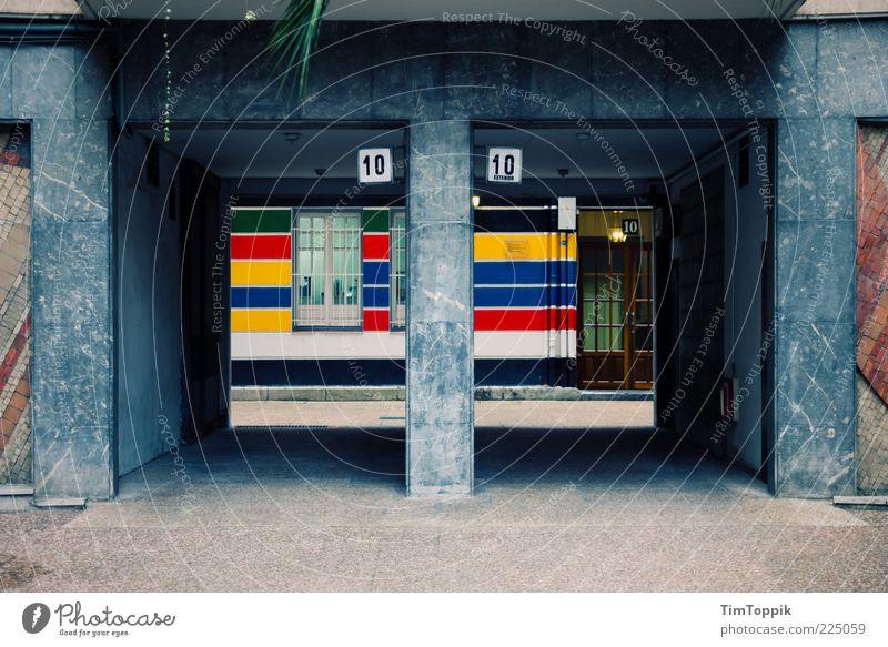 3x10 Haus Fenster Architektur Wege & Pfade Schilder & Markierungen Fassade paarweise Ziffern & Zahlen Tor Eingang Spanien Durchblick Einfahrt Marmor