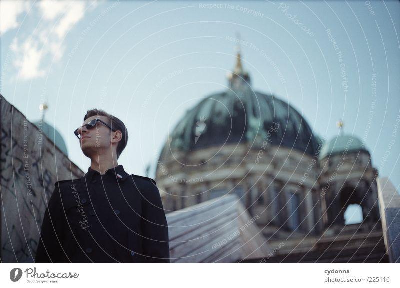 Großstadtluft schnuppern Himmel Ferien & Urlaub & Reisen ruhig Leben Berlin Freiheit Architektur Stil elegant Treppe Tourismus Lifestyle Coolness einzigartig