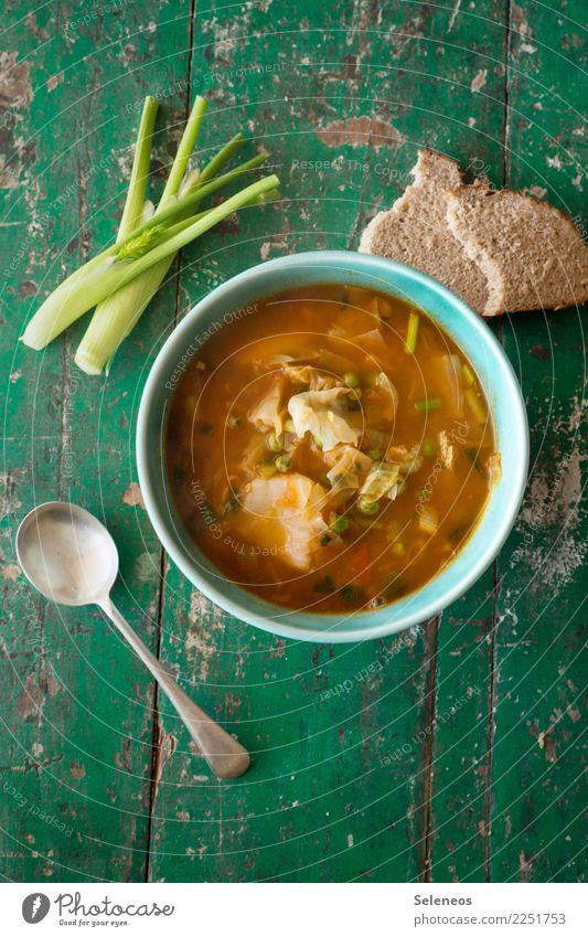 heute brau ich Lebensmittel Gemüse Suppe Eintopf Kohl Fenchel Brot Erbsen Ernährung Essen Mittagessen Abendessen Vegetarische Ernährung Diät Fasten