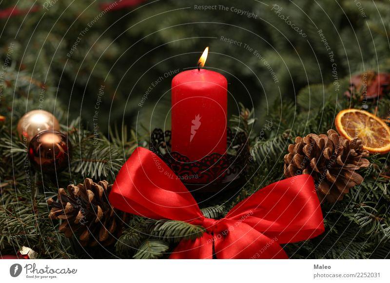 Advent Weihnachten & Advent Dekoration & Verzierung Dezember Feste & Feiern festlich Flamme Fröhlichkeit Glück grün Hintergrundbild Kerze Kerzenschein Postkarte