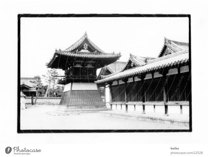 keiko Japan Nara Erfolg buddhistische Tempel Architektur