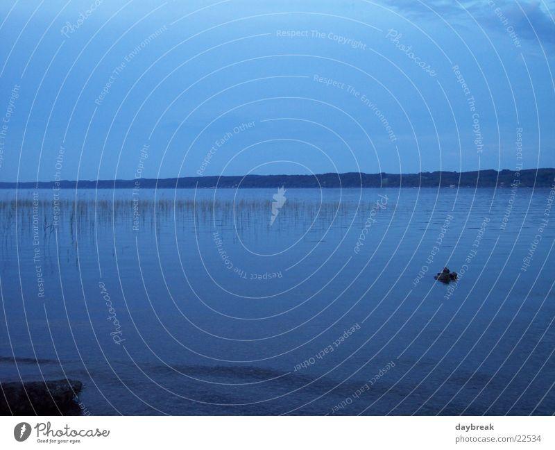 Starnbergersee Wasser ruhig Erholung See
