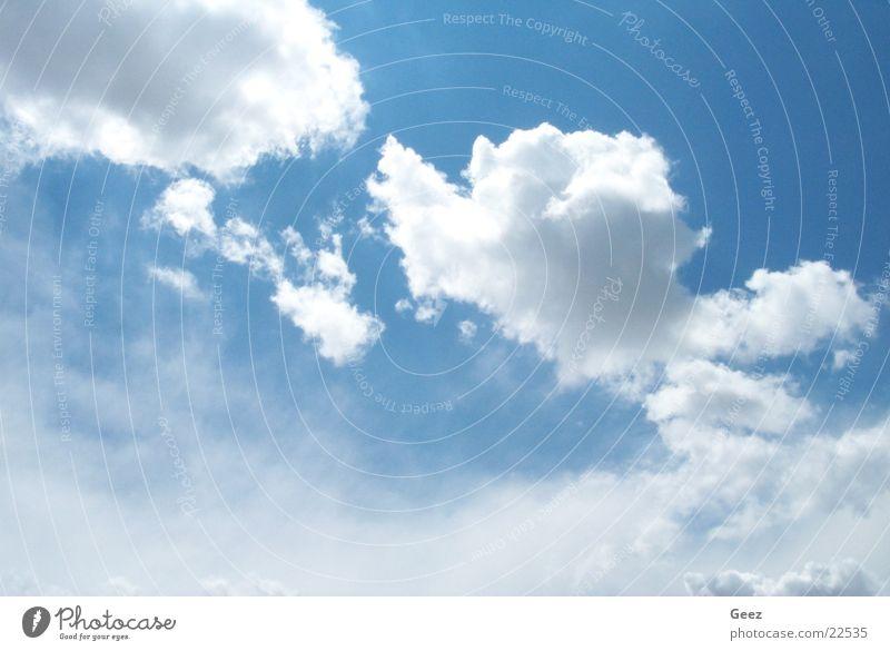 Air Wolken Luft Blue