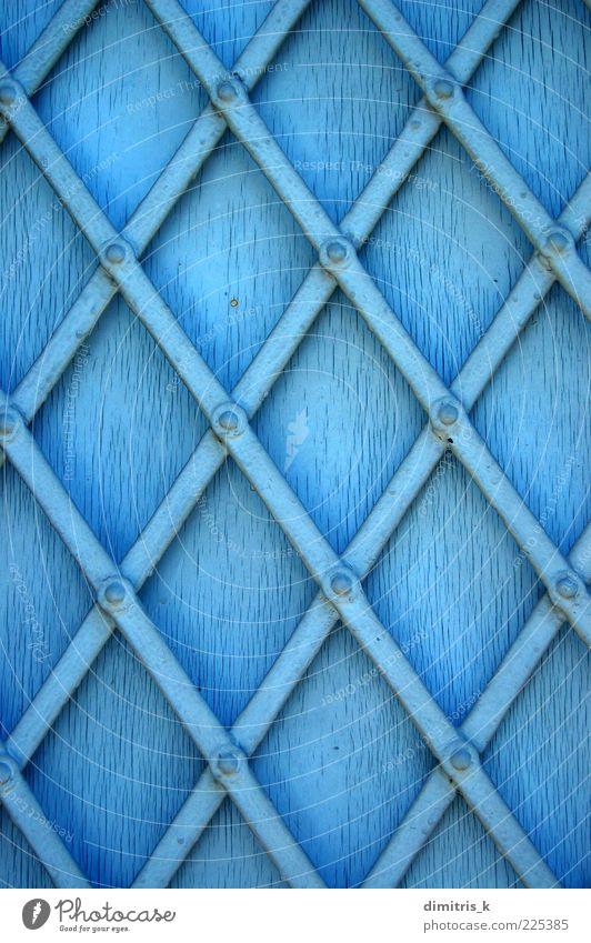 blau Architektur Metall Kunst Hintergrundbild dreckig diagonal Stahl Verfall Riss Material Oberfläche Griechenland verwittert geschnitten industriell