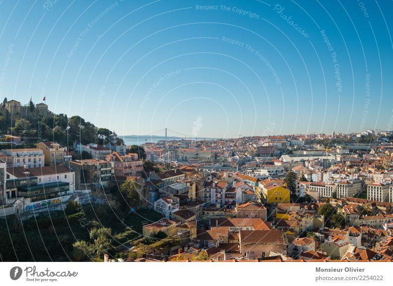 Miradouro da Graça, Lissabon, Portugal Europa Stadt Stadtzentrum Altstadt bevölkert Haus Sehenswürdigkeit Ferien & Urlaub & Reisen Tourismus Aussicht