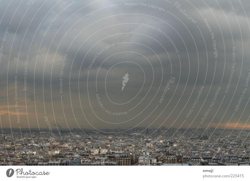 Fluctuat nec mergitur Himmel Stadt Wolken dunkel Wetter Klima Reisefotografie Paris Unwetter Hauptstadt schlechtes Wetter Gewitterwolken