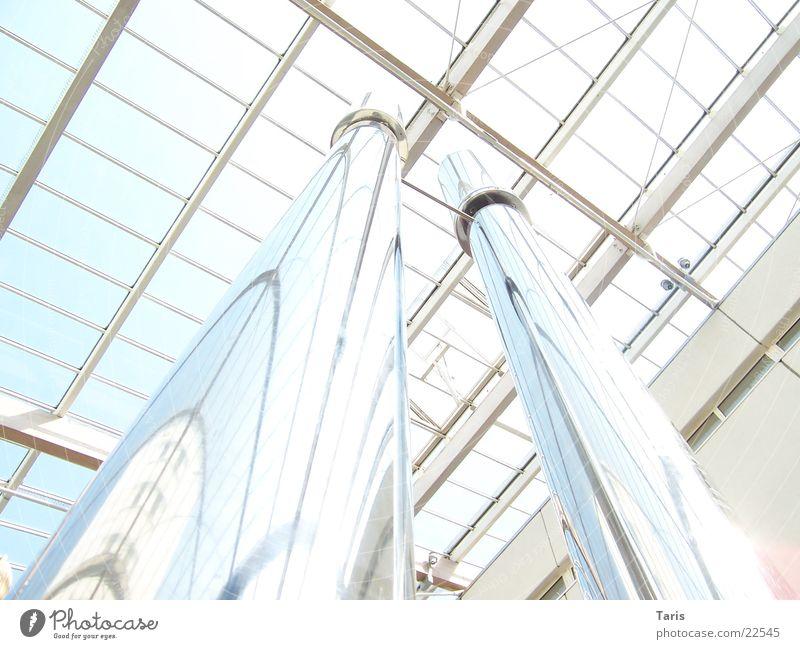 Chrom in den Himmel Reflexion & Spiegelung Dach Architektur Decke hell