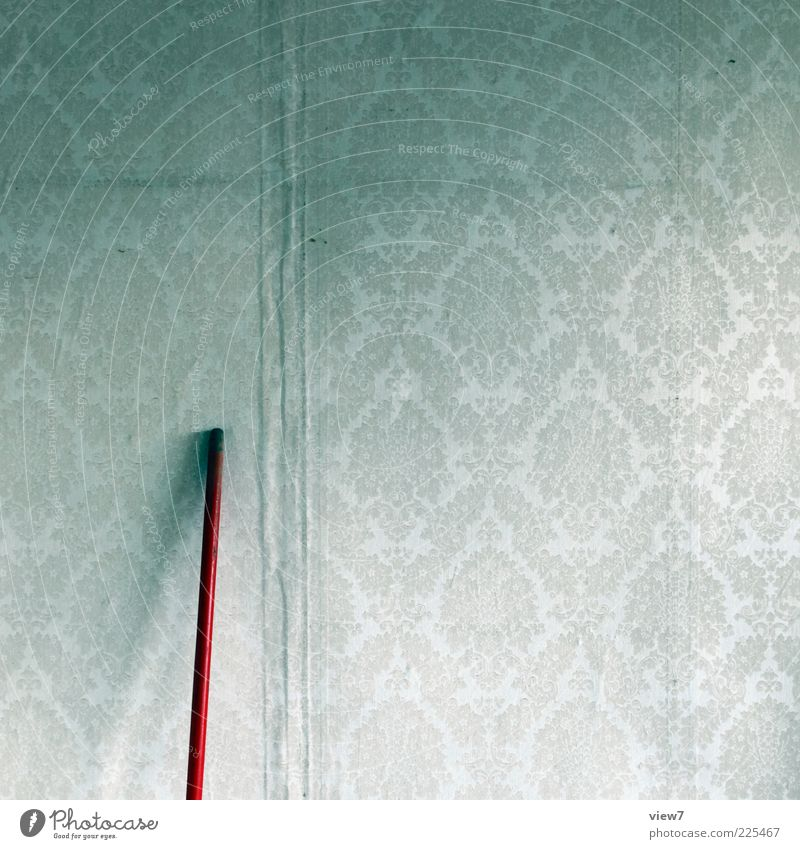 Gestatten: von Besenstiel alt rot Raum dreckig Design Ordnung ästhetisch Innenarchitektur authentisch Streifen retro einzigartig Wandel & Veränderung