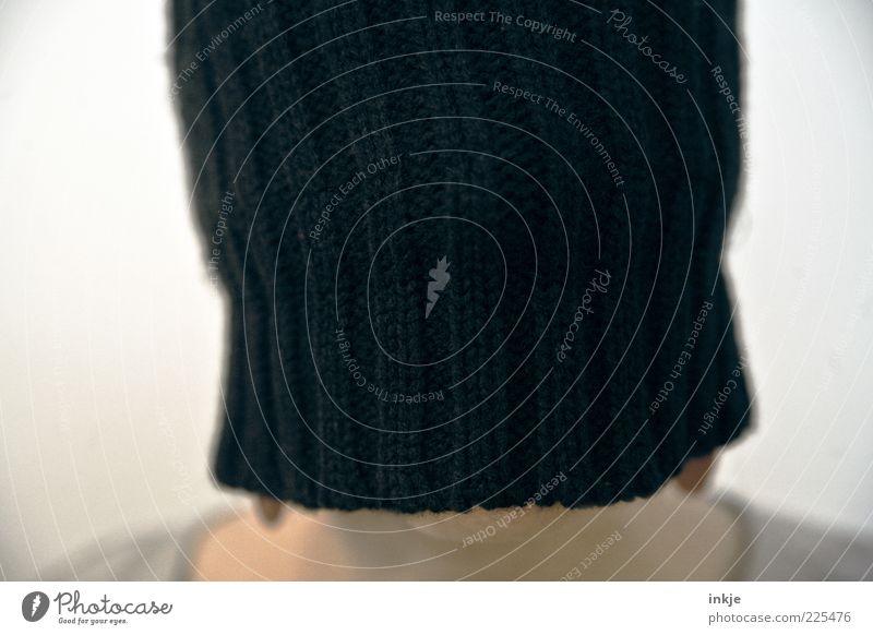 undercover Mensch schön Freude Einsamkeit Kopf Stil Traurigkeit elegant Pause einzigartig Maske Schutz Mütze skurril verstecken Inspiration
