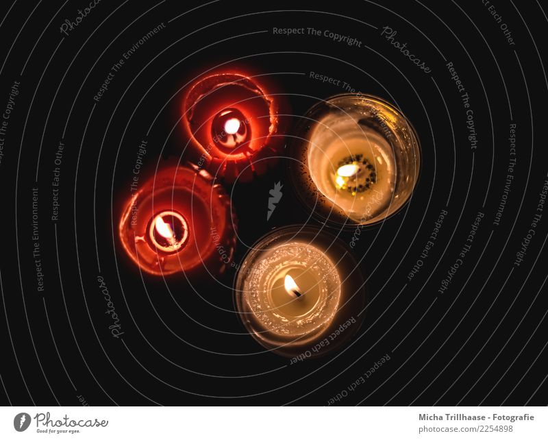 Kerzenschein Dekoration & Verzierung Feste & Feiern Valentinstag Weihnachten & Advent Geburtstag Trauerfeier Beerdigung Kitsch Krimskrams Erholung glänzend