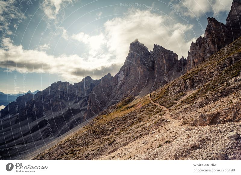 Kratzige Dolomiten Umwelt Natur Berge u. Gebirge wandern Südtirol Farbfoto Außenaufnahme