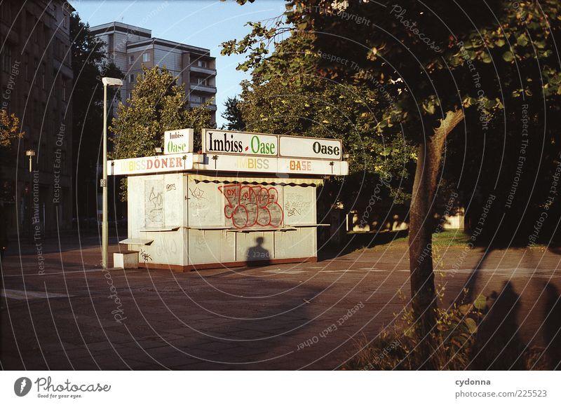 Stranger want Döner Mensch Stadt Baum ruhig Einsamkeit Leben Freiheit Umwelt Architektur Graffiti Wege & Pfade geschlossen ästhetisch Lifestyle einzigartig