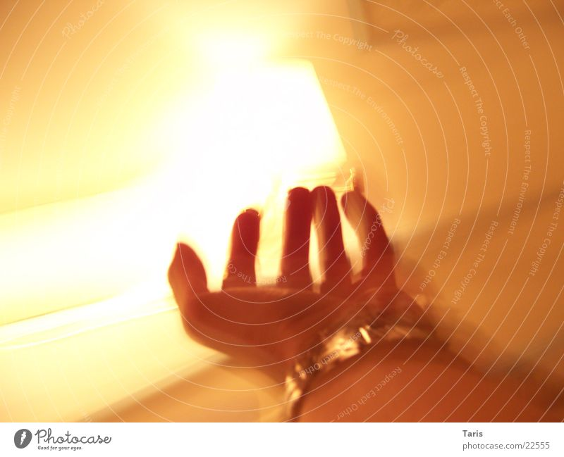 Screaming Hand II Lampe Raum Angst laufen Uhr Geschwindigkeit lang fangen schreien