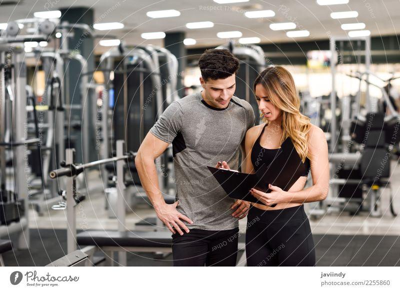 Frau Mensch Jugendliche Mann Junge Frau Junger Mann weiß 18-30 Jahre Erwachsene Lifestyle Sport feminin maskulin Körper Aktion Lächeln