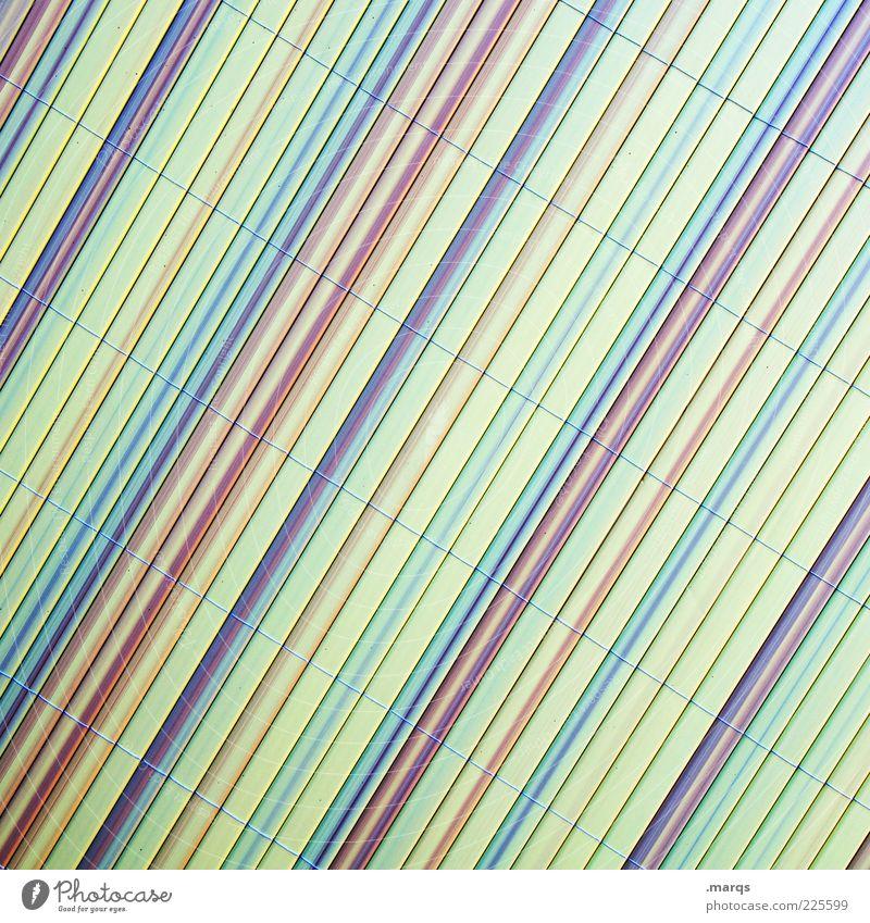 Tilt Stil Design Kunststoff Linie einfach einzigartig mehrfarbig Hintergrundbild Gedeckte Farben Nahaufnahme abstrakt Muster Strukturen & Formen Streifen
