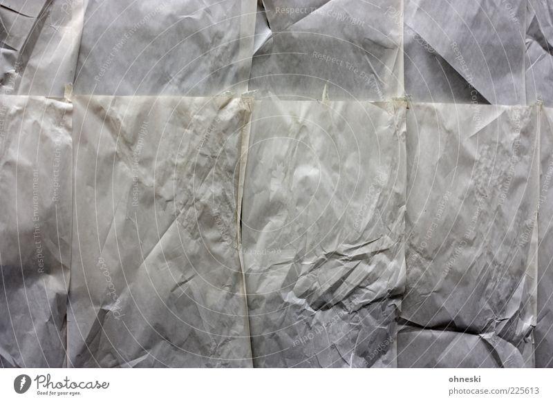 Zu verpachten Menschenleer Fenster Schaufenster Papier grau Krise Insolvenz geschlossen Ladengeschäft Gedeckte Farben abstrakt Muster Strukturen & Formen