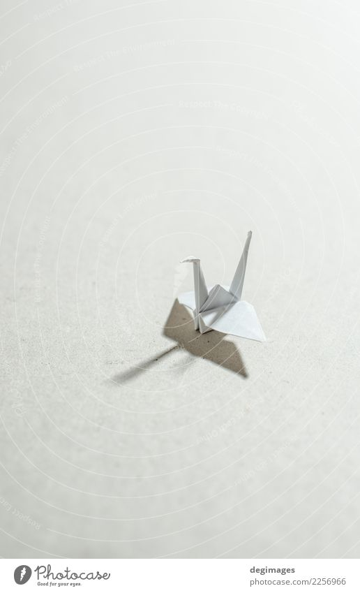 Kran Origami Freizeit & Hobby Spielen Dekoration & Verzierung Handwerk Kunst Tier Vogel Papier Spielzeug rot weiß Hoffnung Kranich Hintergrund Japan