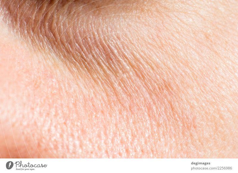 Frau Mensch alt weiß dunkel Gesicht Erwachsene natürlich Haut Beautyfotografie Hautfalten Medikament Stress unten Müdigkeit Dame