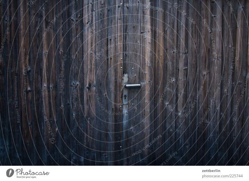 Tor alt Holz Tür Eingang Griff Garage Ausgang Schuppen Holztür Holztor
