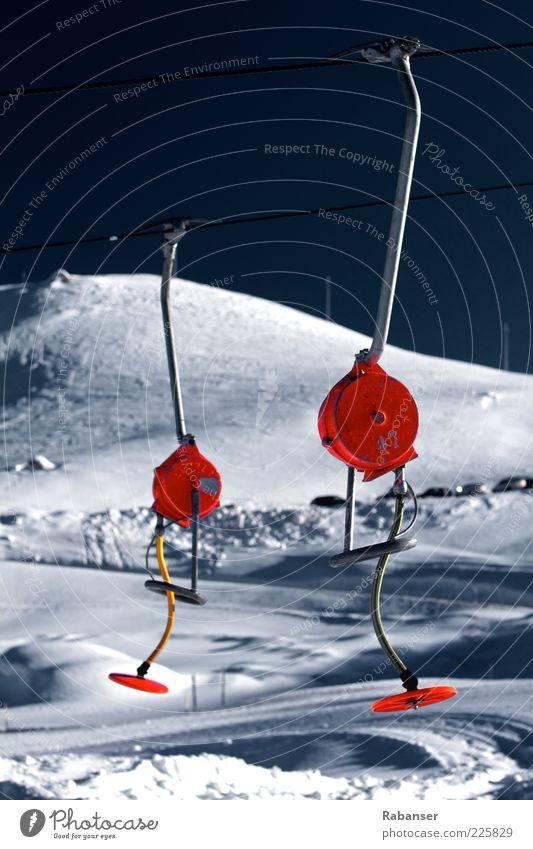 Skitag Natur Ferien & Urlaub & Reisen Winter Schnee Berge u. Gebirge Landschaft Ausflug Tourismus Alpen Winterurlaub Skilift Südtirol Dolomiten Umwelt