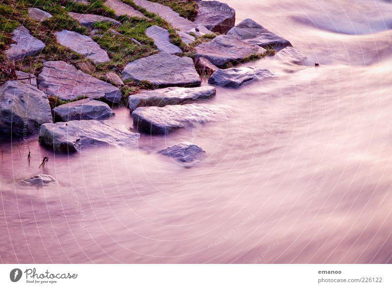 mitreißend standhaft Natur Wasser Gras Bewegung Stein Kraft Küste Wellen Umwelt nass Geschwindigkeit Insel Fluss weich bedrohlich Flüssigkeit