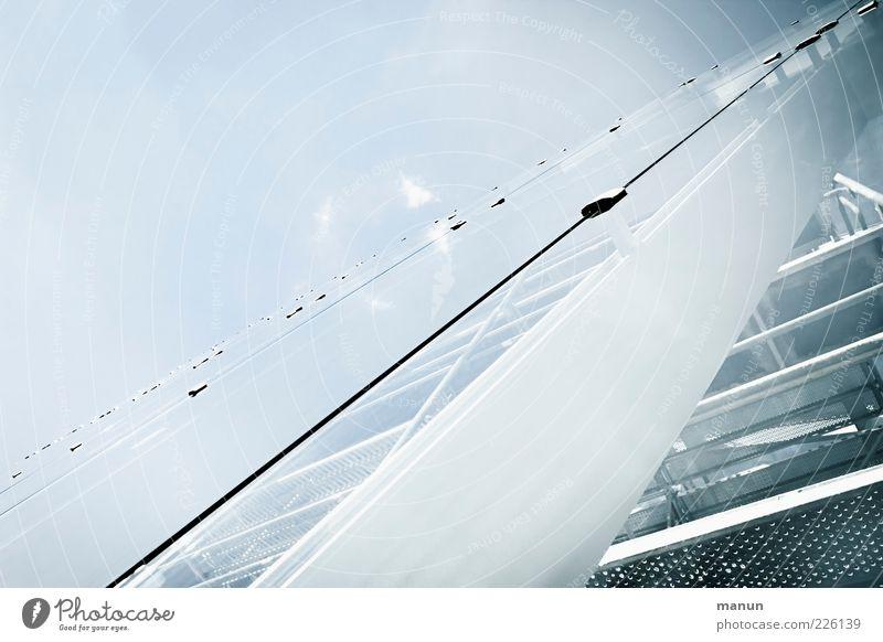 Glaskasten Bauwerk Architektur Fassade Glasfassade Glasscheibe Sehenswürdigkeit Denkmal Limestor Dalkingen Metall Stahl Coolness glänzend hell modern Farbfoto