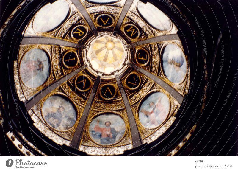 Ave Maria Italia Italien Dach Reichtum Muster heilig rund Gotteshäuser Religion & Glaube gold edel