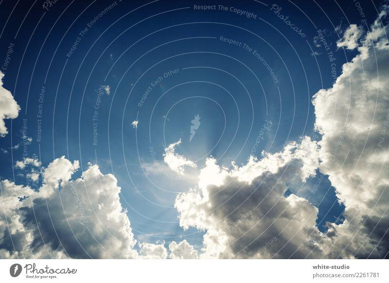 Licht im Himmel Umwelt Natur nur Himmel Wolken außergewöhnlich Himmel (Jenseits) Paradies Glaube Gott Religion & Glaube Gotteshäuser Tod Außenaufnahme