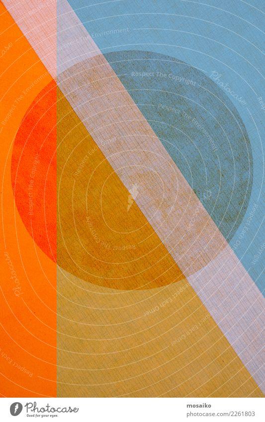 Kreisrund 5 Lifestyle elegant Stil Design Kunst Linie retro ästhetisch Zufriedenheit Idee Inspiration Lebensfreude Leichtigkeit Symmetrie Grafik u. Illustration
