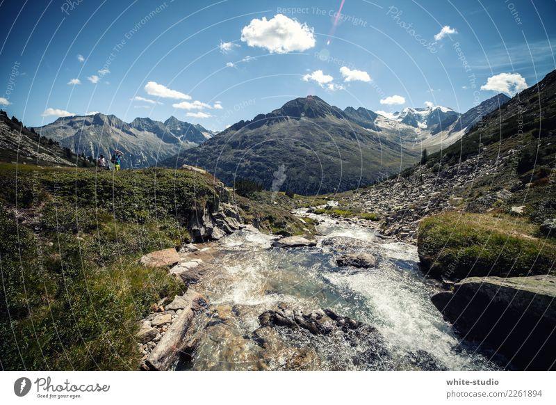 Bergwelten Ferien & Urlaub & Reisen Sommer Sonne Erholung Ferne Berge u. Gebirge Leben Lifestyle Gesundheit Tourismus Freiheit Ausflug Freizeit & Hobby