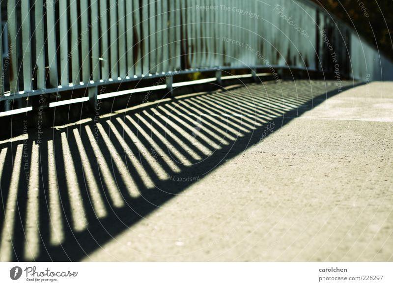 Bridge blau grau Brücke Geländer Brückengeländer