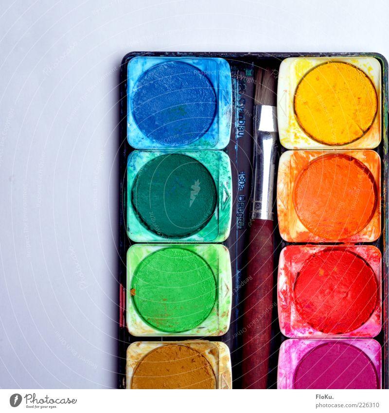 kaum gebraucht Farbe Kunst Freizeit & Hobby Kreativität Pinsel grell Perspektive Farben und Lacke Tusche Malutensilien Farbkasten