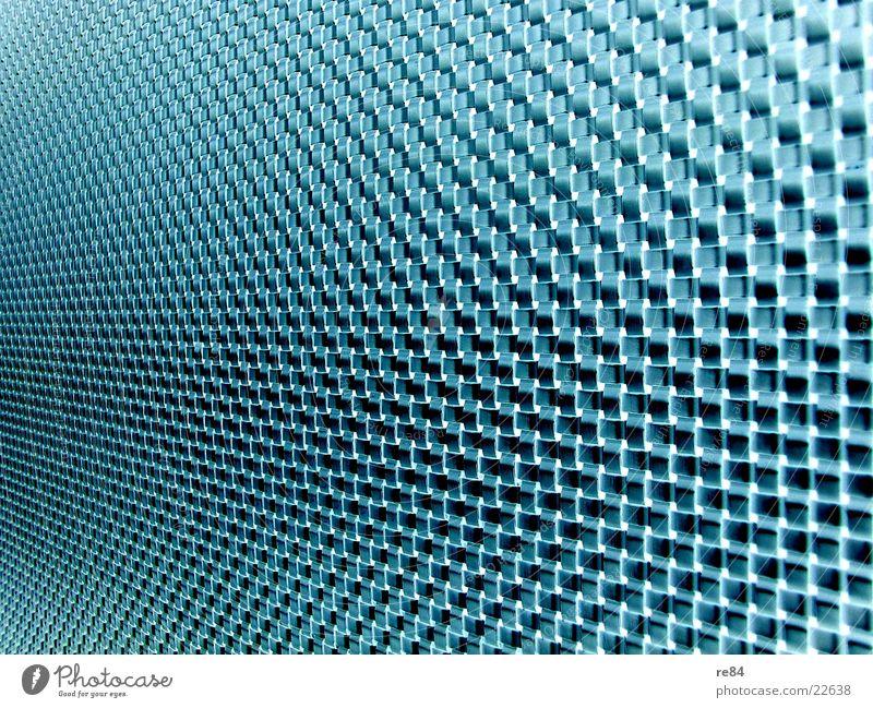 glasfaserwand blau grün schwarz Wand Glas modern Netzwerk Kabel Technik & Technologie Netz Leitung Gitter Vernetzung Faser Muster Informationstechnologie