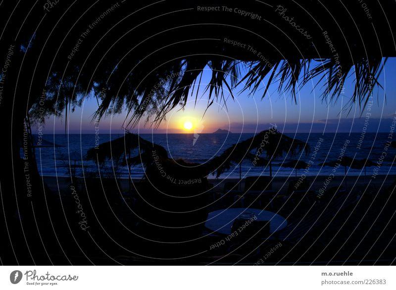 wenn wir alt sind Himmel Natur schön Sonne Sommer Strand Ferien & Urlaub & Reisen Meer Ferne Freiheit Gefühle Glück Küste Stimmung Horizont Insel