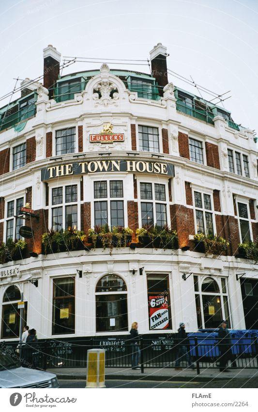 Pub #2 Fenster Tür Europa Gastronomie Restaurant London England