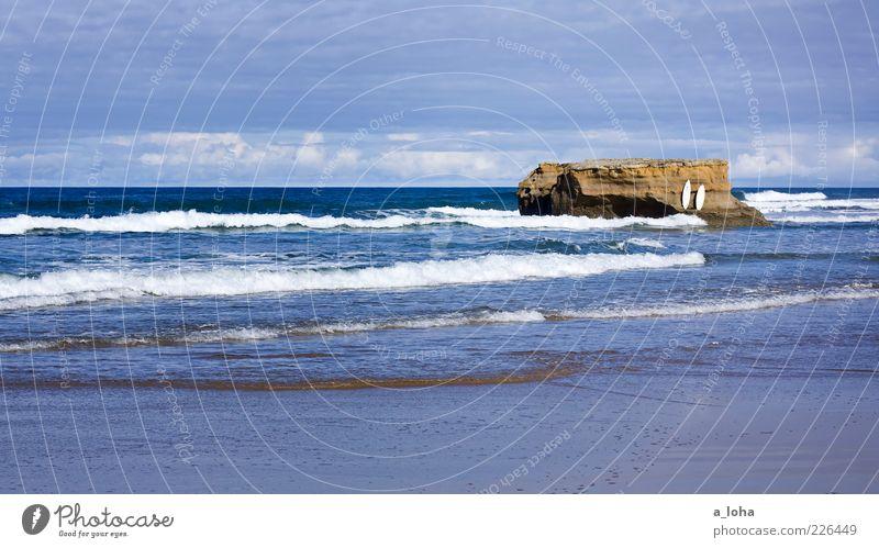 *happy australia day* Himmel Natur Wasser Ferien & Urlaub & Reisen Meer Sommer Strand Wolken Einsamkeit Ferne Freiheit Küste Horizont Wellen Freizeit & Hobby