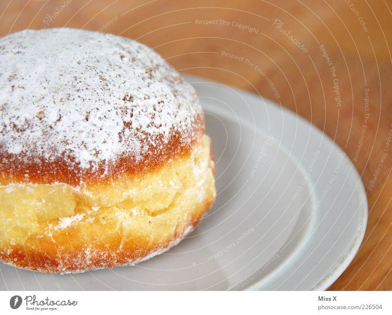alaaaaaf Lebensmittel Ernährung süß rund lecker Teller Fett Backwaren Teigwaren Dessert Krapfen Kaffeetrinken Puderzucker Dickmacher
