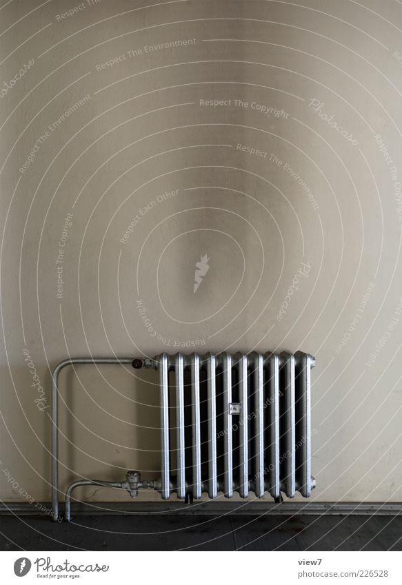heiße Luft 2.0 alt kalt Wand oben Wärme Mauer Stein Metall braun Raum dreckig elegant Beton modern ästhetisch Innenarchitektur