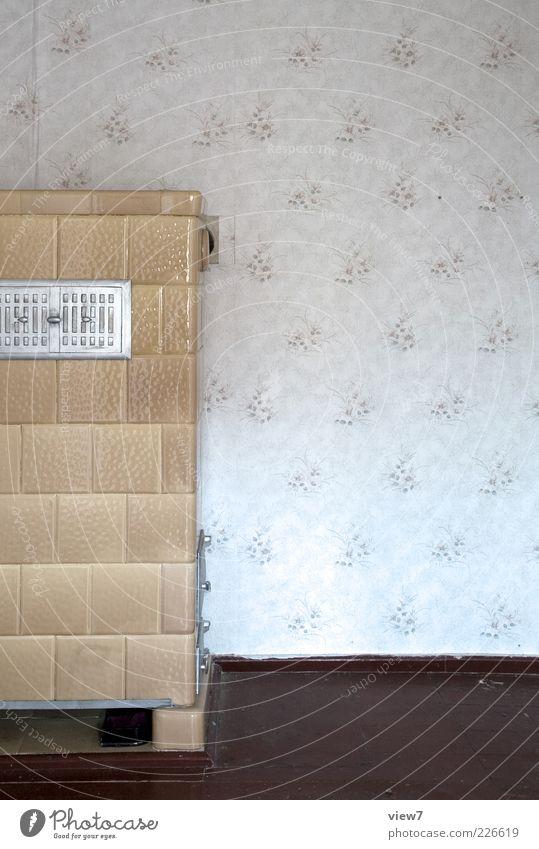 abgestellt alt Ferne Wand Wärme Mauer Stein braun Fassade Energie Innenarchitektur trist authentisch Häusliches Leben retro einfach Vergänglichkeit