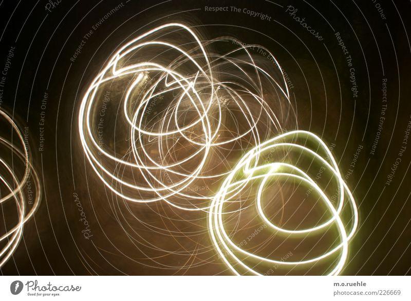 hula hoop's weiß Bewegung Kunst ästhetisch verrückt Kreis einzigartig rund leuchten trashig chaotisch Lichtspiel Begeisterung Kunstwerk Euphorie abstrakt