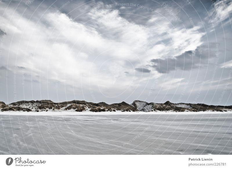 Virtual Landscape Himmel Natur schön Pflanze Ferien & Urlaub & Reisen Strand Meer Wolken Einsamkeit Ferne Umwelt Landschaft Sand Küste Stimmung Luft