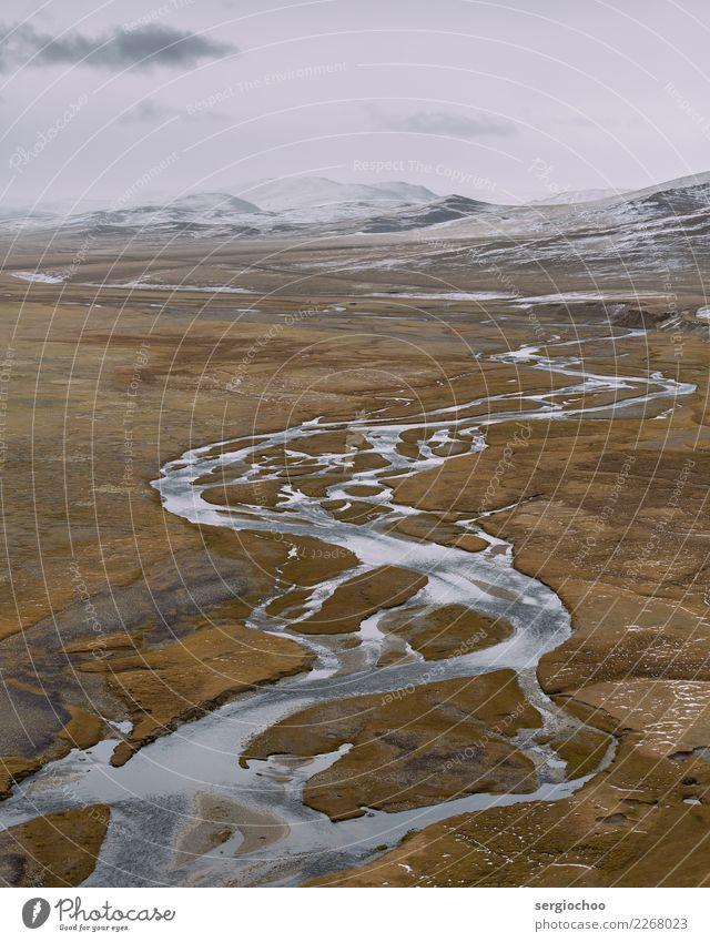 eitler Fluss Natur Ferien & Urlaub & Reisen schön Landschaft Wolken Winter Ferne Berge u. Gebirge Herbst Schnee Tourismus Freiheit Felsen Ausflug Horizont