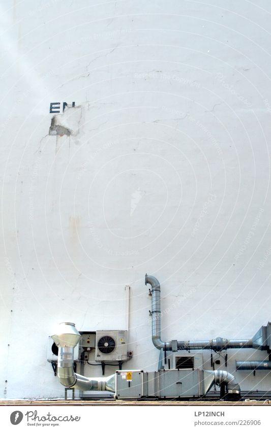 Italy Air Haus kalt Wand Mauer Gebäude Metall Fassade Schriftzeichen Dach Buchstaben Technik & Technologie Kreativität Röhren Duft Eisenrohr Maschine