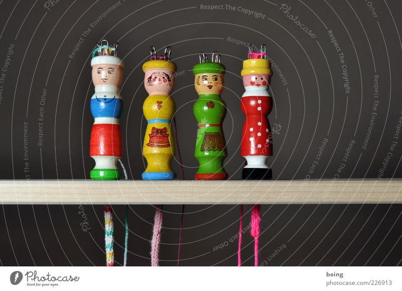 Strickliesel, -nette, - christl und -marie Schule Freizeit & Hobby Seil Puppe trendy Bildung Basteln Wolle stricken aufgereiht Handarbeit heimwerken häkeln