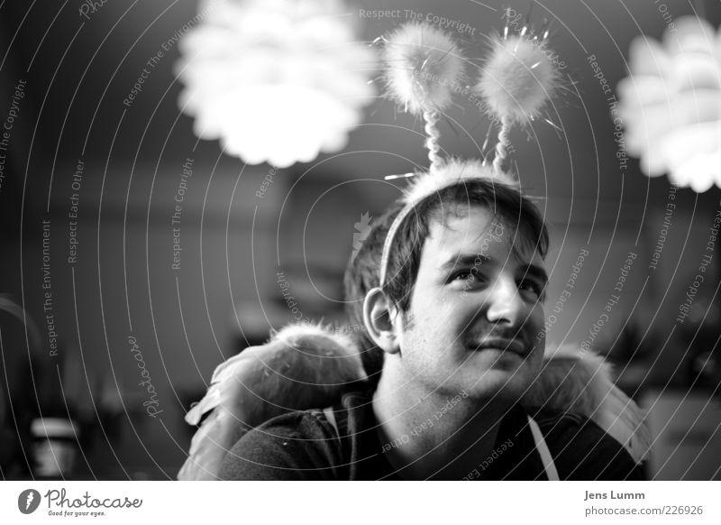 Biene Maja Mensch Jugendliche Freude Erwachsene Lampe lustig maskulin Flügel Karneval 18-30 Jahre Karnevalskostüm Fühler Kostüm Spaßvogel Junger Mann Plüsch